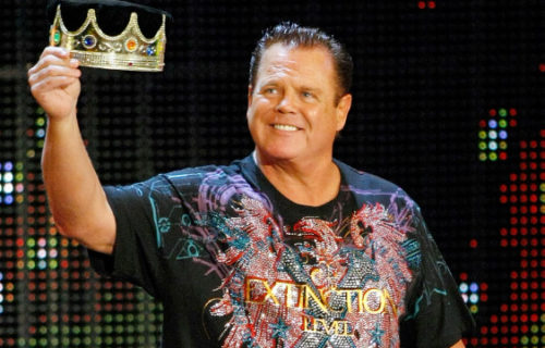 Jerry Lawler attends presidential rally