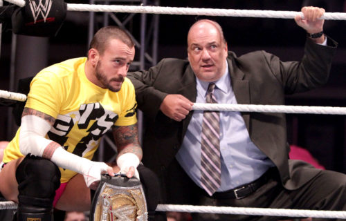 Paul Heyman Comments on Why He Praised CM Punk During New WWE Network Special