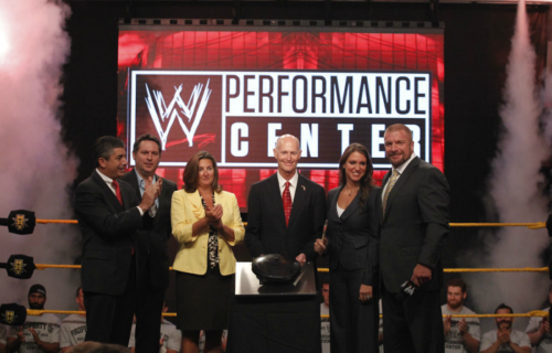 The WWE Performance Center Hits A Milestone - Details