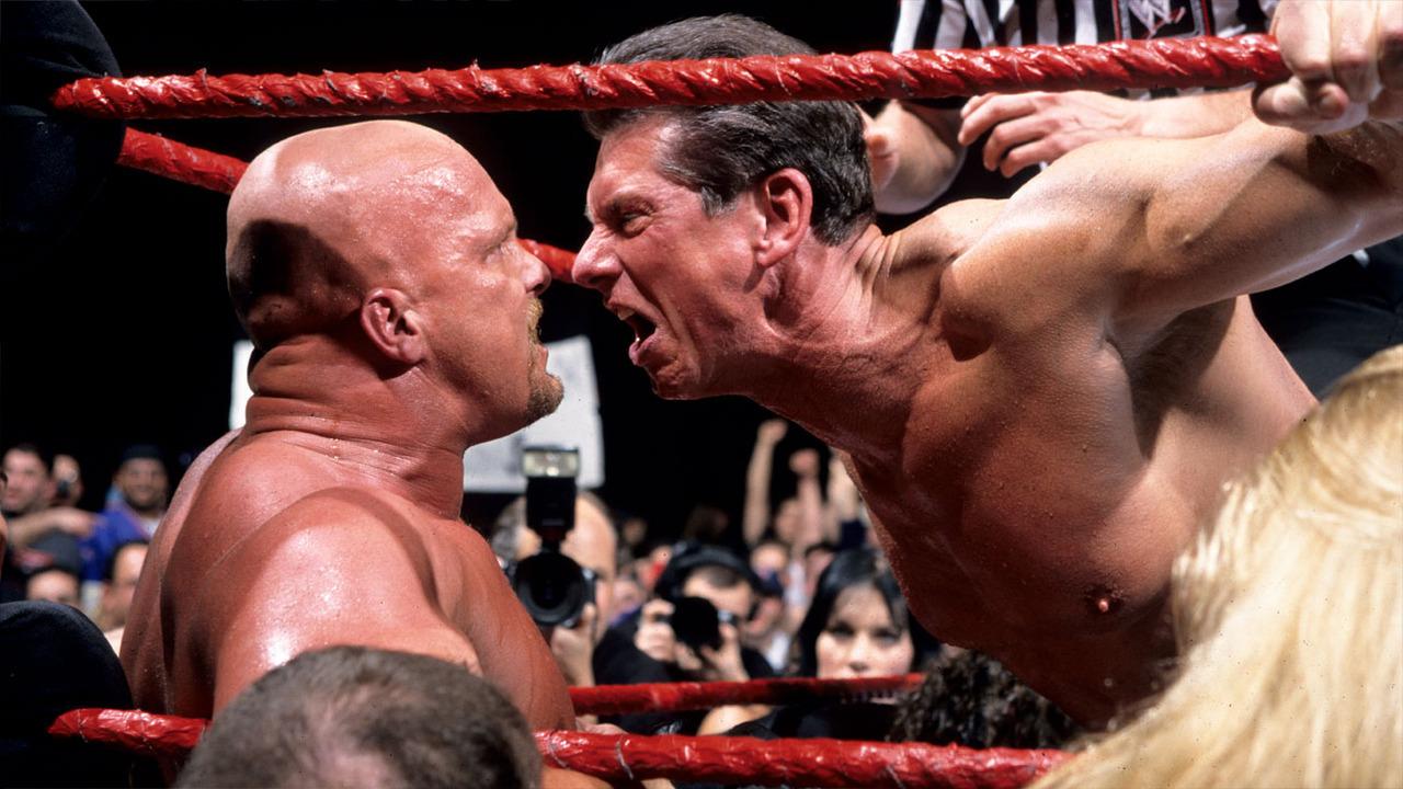 Vince McMahon dan Steve Austin (Via WWE)