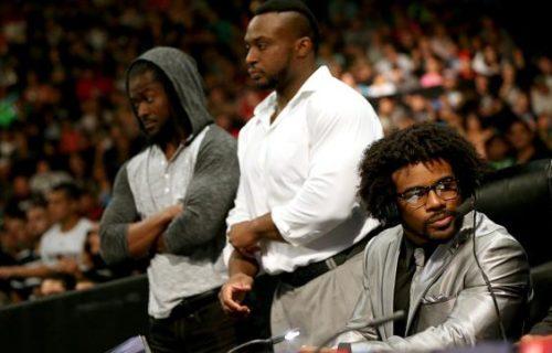 Spoiler Photos: New Group Debuts at WWE SmackDown Tapings