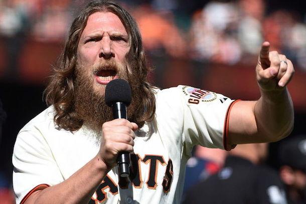 San Fransisco Giants - Daniel Bryan