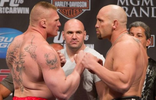 Former UFC Star Willing to Come Out of Retirement for Rematch Against Brock Lesnar