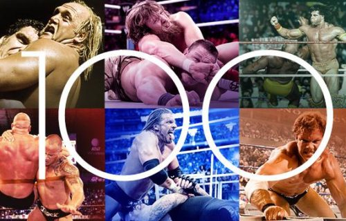 """""""100 Best Matches To See Before You Die"""" Ranked By WWE"""