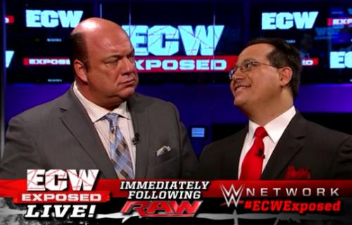 Heated Exchange Between Paul Heyman, Tommy Dreamer & Joey Styles After ECW Exposed
