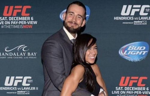 CM Punk Was Worried Wife AJ Lee Could Shut Down UFC Deal