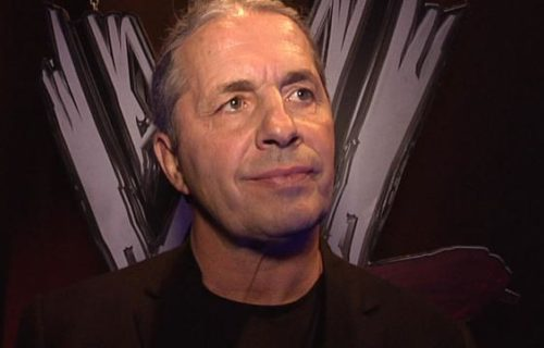 Bret Hart And Lance Storm Backstage At Saturday's WWE Live Event