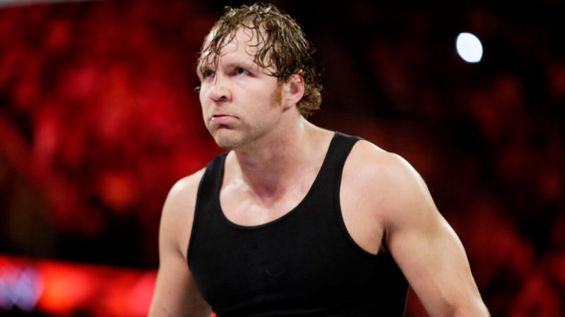 Dean Ambrose 6 Raw