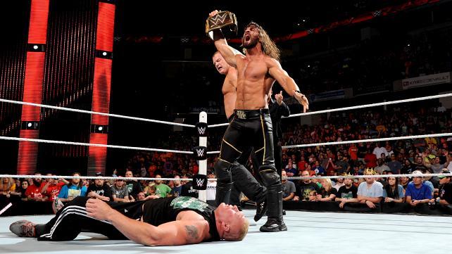 Brock Lesnar - Seth Rollins