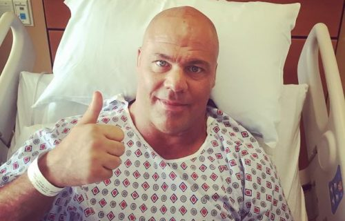 Backstage News On Kurt Angle's Recent Surgery To Remove A Tumor On His Neck