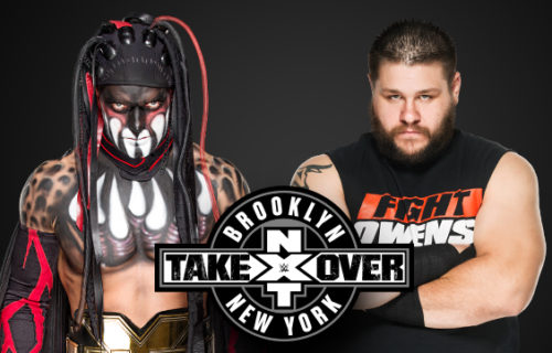 NXT TakeOver: Brooklyn Report - Balor vs. Owens Ladder Match for NXT Title