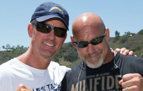 Goldberg Attends San Diego Chargers Training Camp, The Rock Named Fittest WWE Star