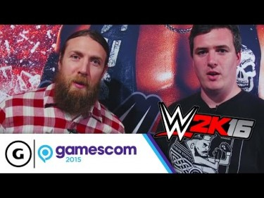 Daniel Bryan Hypes WWE 2K16 And His New Book, Chad Gable On His New Tag Team With Jason Jordan
