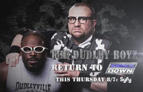 The Dudley Boyz To Appear On This Thursday's Episode Of WWE SmackDown