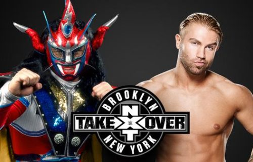 Updated Card For NXT Takeover: Brooklyn