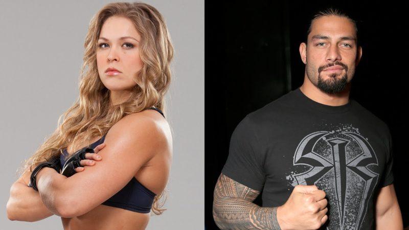 Ronda Rousey-Roman Reigns