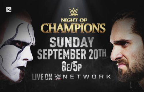 Updated WWE Night Of Champions PPV Card
