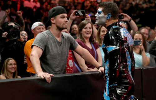 Stardust Posts The Stephen Amell Fight Anthem For SummerSlam