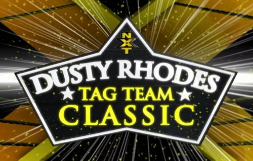 Who Will Be Presenting The Dusty Rhodes Tag Team Classic Trophy  Next Week?