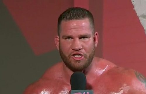 Matt Morgan talks Brock Lesnar tackling the Big Show backstage
