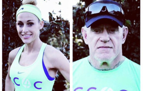 PHOTO: The Undertaker And Michelle McCool Takes Part In A Charity Run