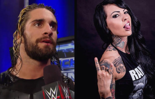 Seth Rollins And Zahra Schreiber At The Squared Circle (Photo), Mick Foley News