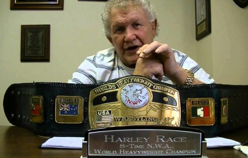 Harley Race has been hospitalized