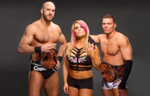 Cesaro talks reason why tag team with Tyson Kidd worked well
