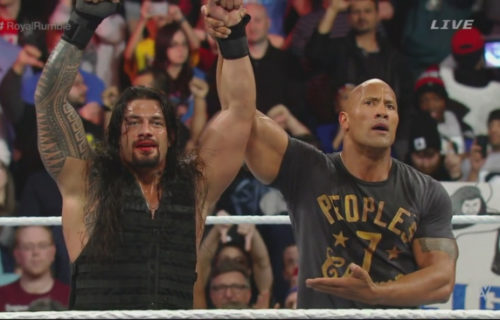 The Rock claims he is open to a match against Roman Reigns