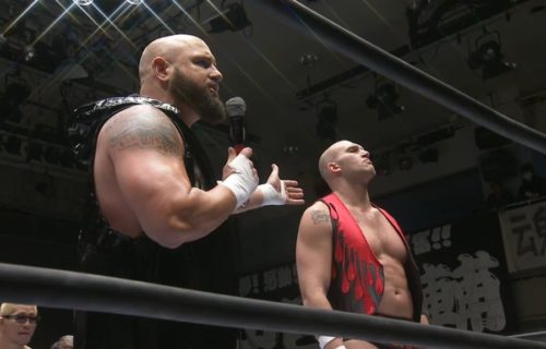Cody Hall Taken To Hospital After Taking A Scary Bump At NJPW event