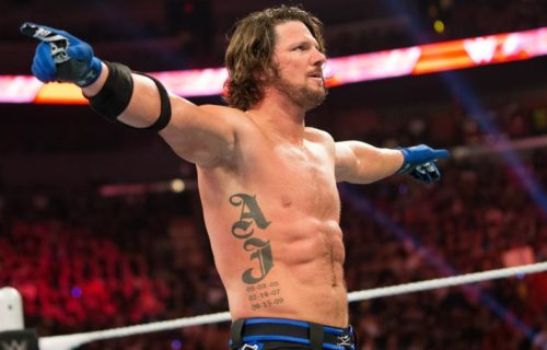 AJ Styles Didn't 'Shed One Tear' Leaving TNA