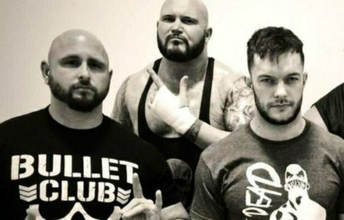 Scott Hall High on Bullet Club Members Anderson and Gallows