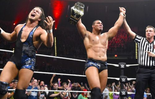 Chad Gable And Jason Jordan Speak On Winning the NXT Tag Team Titles