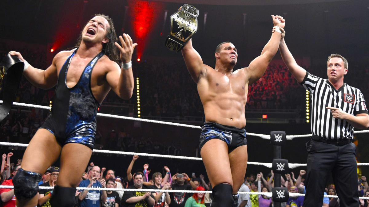 Chad Gable And Jason Jordan Speak On Winning the NXT Tag Team Titles