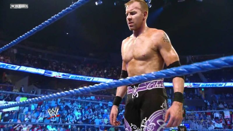 Christian's Reaction After Losing the World Title on SmackDown