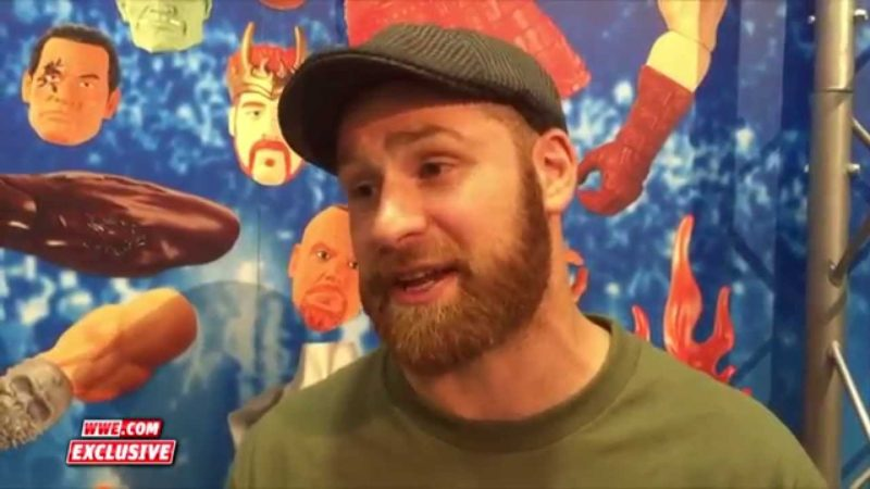 Video: Sami Zayn Reflects On His NXT Career, Being NXT Champion And His New Action Figure