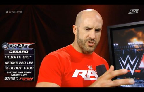 Cesaro Shoots About WWE Management Following Draft, Sasha Banks Weighs In
