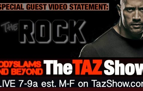 The Rock and Taz Squash Beef over Respective Promo Contests