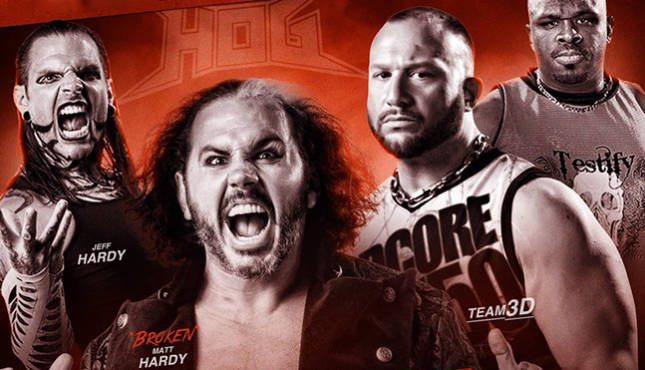 Matt Hardy-Jeff Hardy-Bubba Ray Dudley-D Von Dudley
