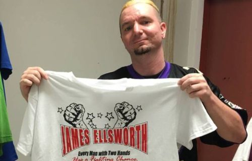 James Ellsworth Needs Your Help to Get Into the Royal Rumble