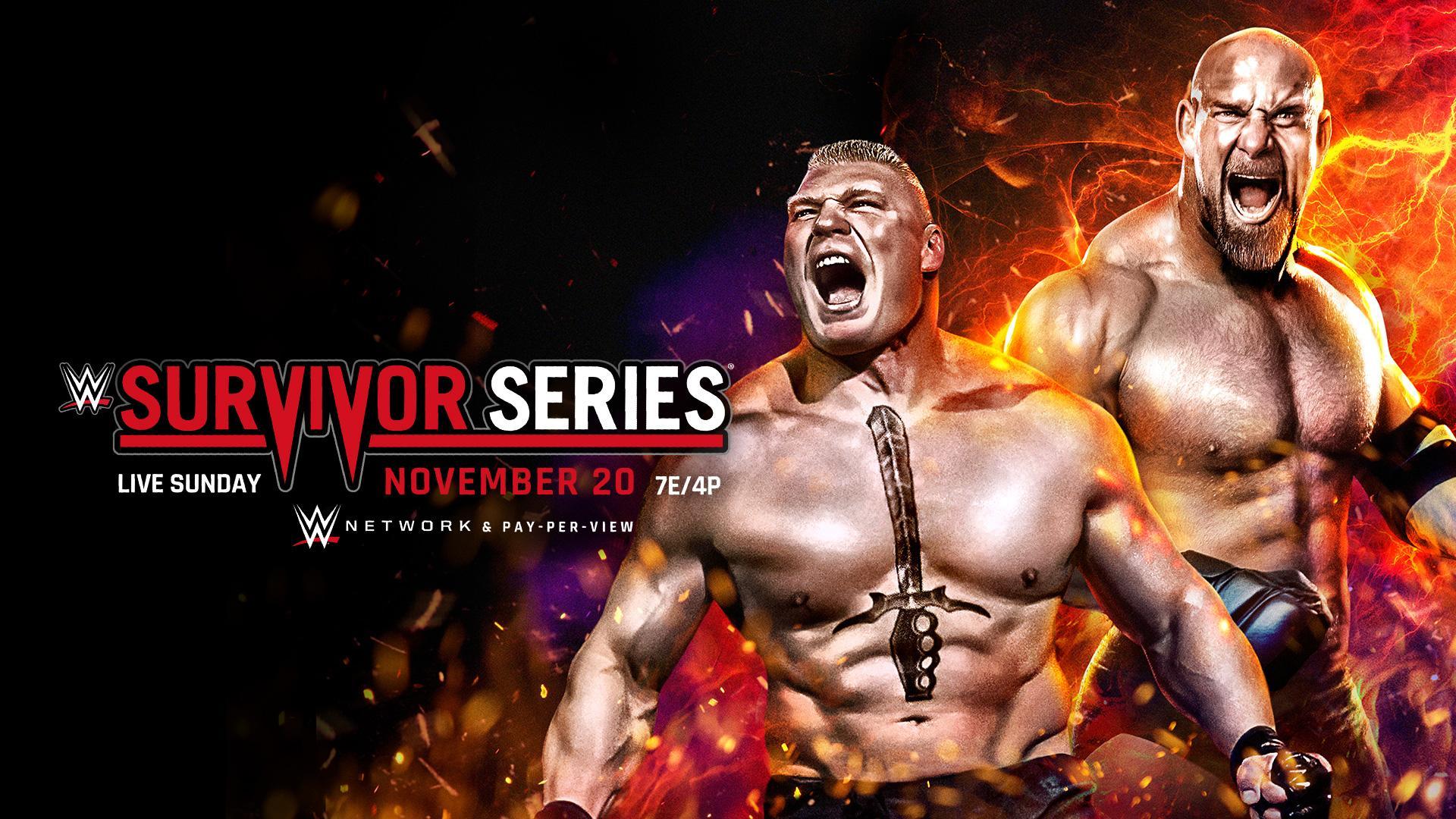 Wwe Survivor Series 2016 Results Goldberg Vs Brock Lesnar