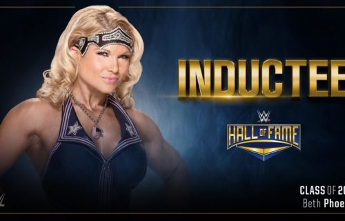 2017 Hall Of Fame inductor for Beth Phoenix announced