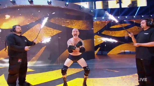 Watch: Gillberg returns to the WWE, Goldberg responds and doesn't seem too thrilled