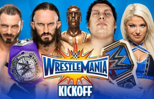 Watch the WrestleMania 33 live streaming kickoff show: Andre the Giant Battle Royal