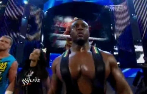 AJ Lee on Big E accidentally hitting her during their entrance