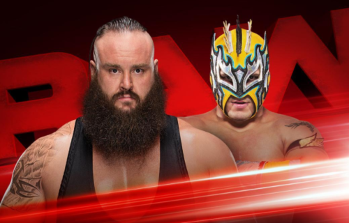 Interesting stipulation match between Braun Strowman and Kalisto official for RAW