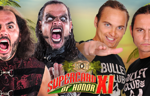 Ring Of Honor Supercard Of Honor PPV results