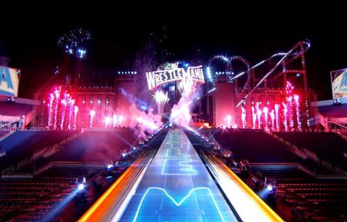 Check out the stunning set of WrestleMania 33