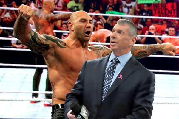 Batista-Vince McMahon