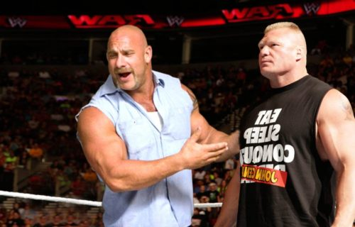 Goldberg reveals his relationship with Brock Lesnar